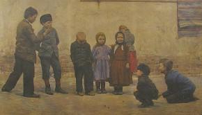 Golyózó gyerekek