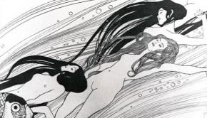 Gustav Klimt_1898_Ver Sacrum 3._Fishblood_(toll, tus)