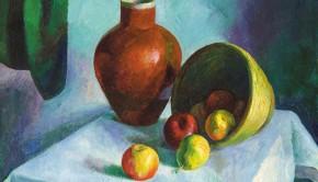 Patkó Károly Csendélet almákkal