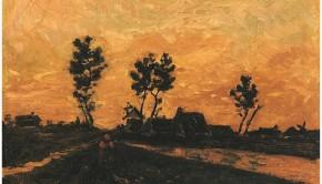 Vincent van Gogh Alkonyat