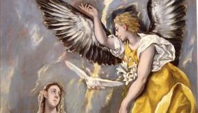 El Greco Angyali üdvözlet