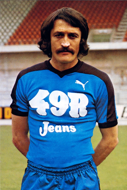 Kű Lajos az FC Bruges mezében (1978)