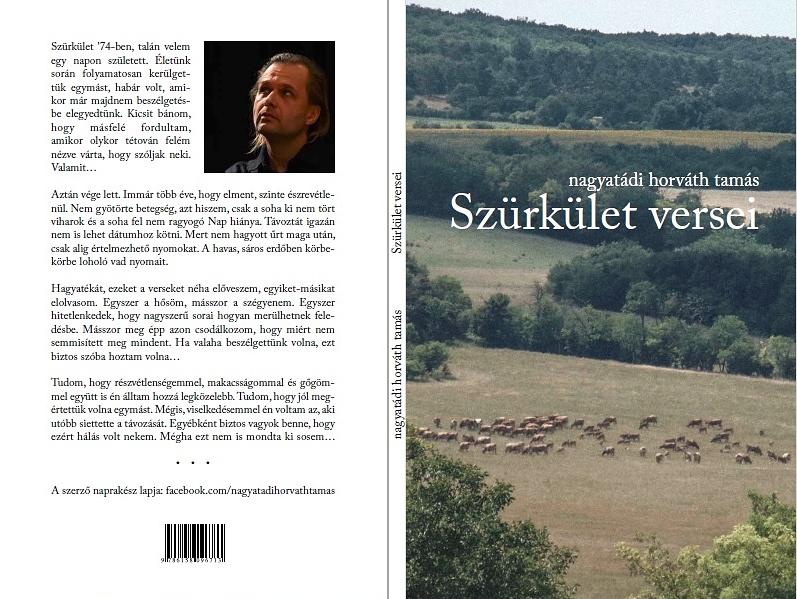 ef22dc3b74 A Cédrus Művészeti Alapítvány gondozásában a júniusi Ünnepi Könyvhétre  jelenik meg a Prágai Tamás-díjas költő első kötete. (A szerkesztőség)