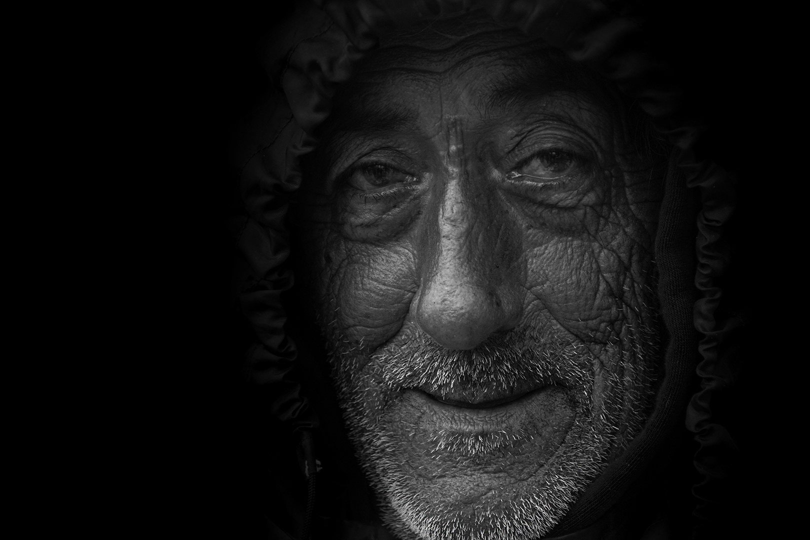 Eifert János: Öreg halász Trapaniból / An old fisherman from Trapani (Szicília, 2018)