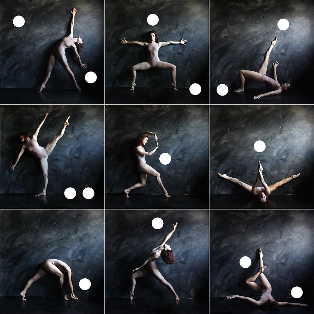 Tánc/Test/Tanulmány - Dance Study ( MMS Mozdulatművészeti Stúdió, Budapest, 2009. július 11.) Digitális montázs, 2010. február 22.