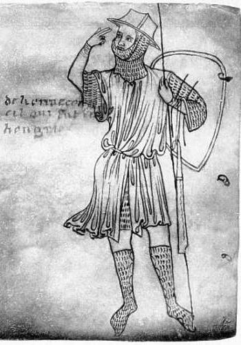 8.Villard_de_Honnecourt ábrázolása a vázlatkönyvében