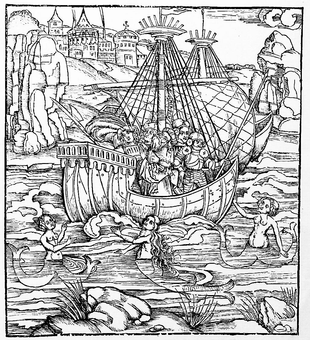 2. kép Aeneis, tengeri nimfák