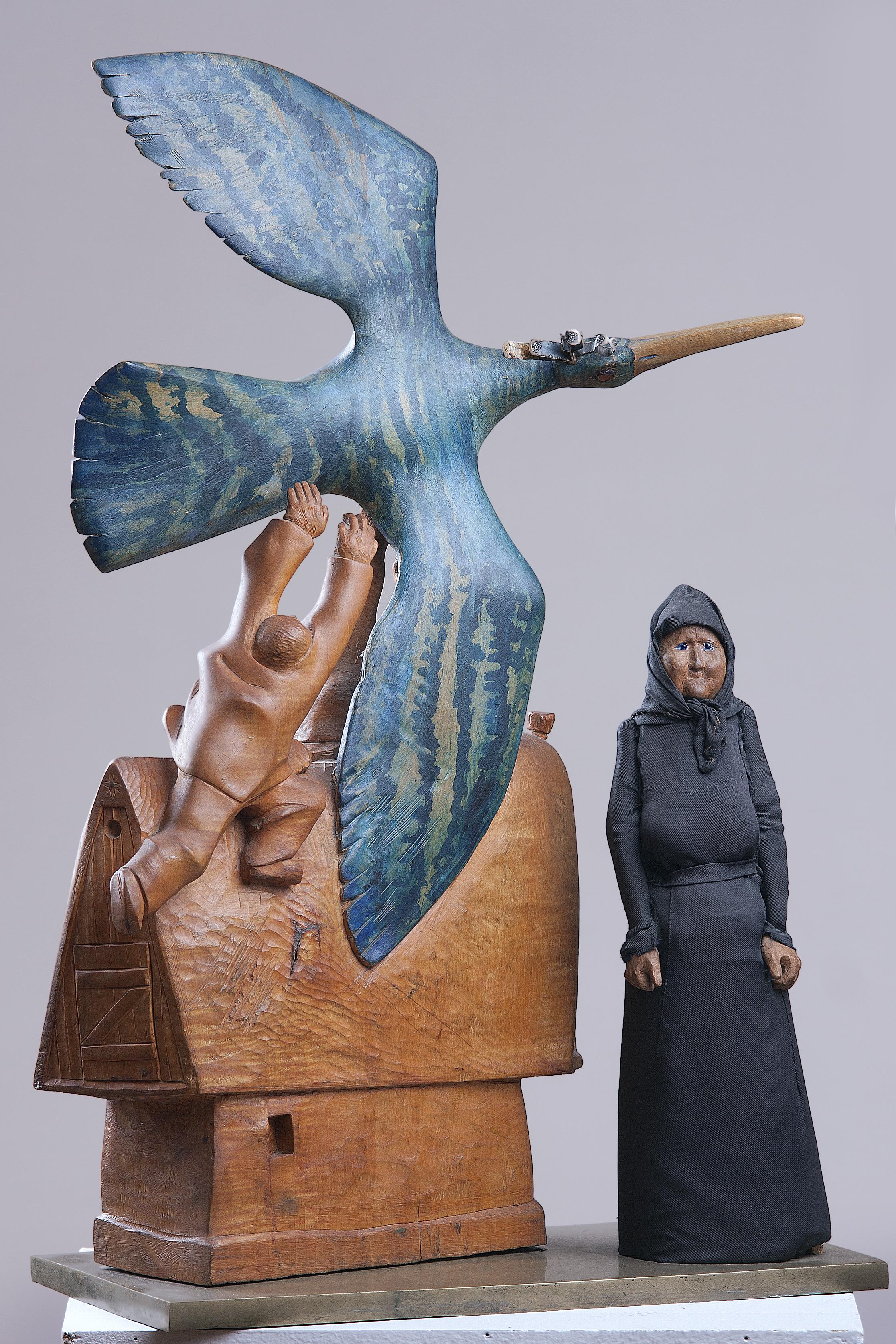 Nagy kék madár