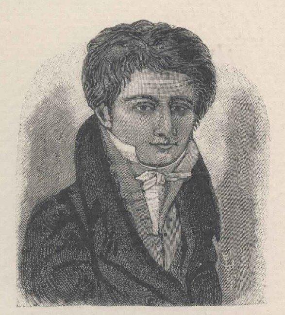 Kisfaludy Sándor ifjúkori arczképe. (Kisfaludy K. festményérõl. Eredetije a Kisfaludy-társ. birtokában.)