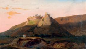 Telepy-Károly-1828-1906-Sümeg-vára