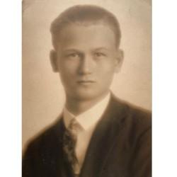 Piatsek György portréja (1930 körül)